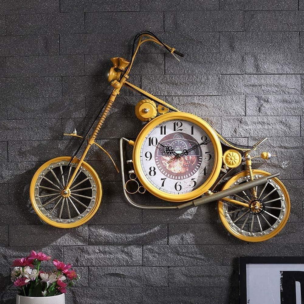 掛け時計 装飾壁掛け服店の装飾67 * 58 * 4.5センチメートルハンギングザ・ウォールデコレーションの壁時計ハンギング Yingkou