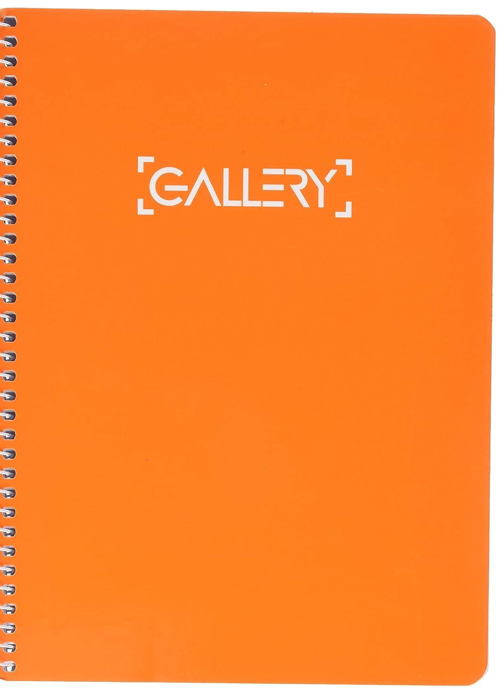 Gallery 949796 - quaderno A5 copertina dura 80 fogli rifornito