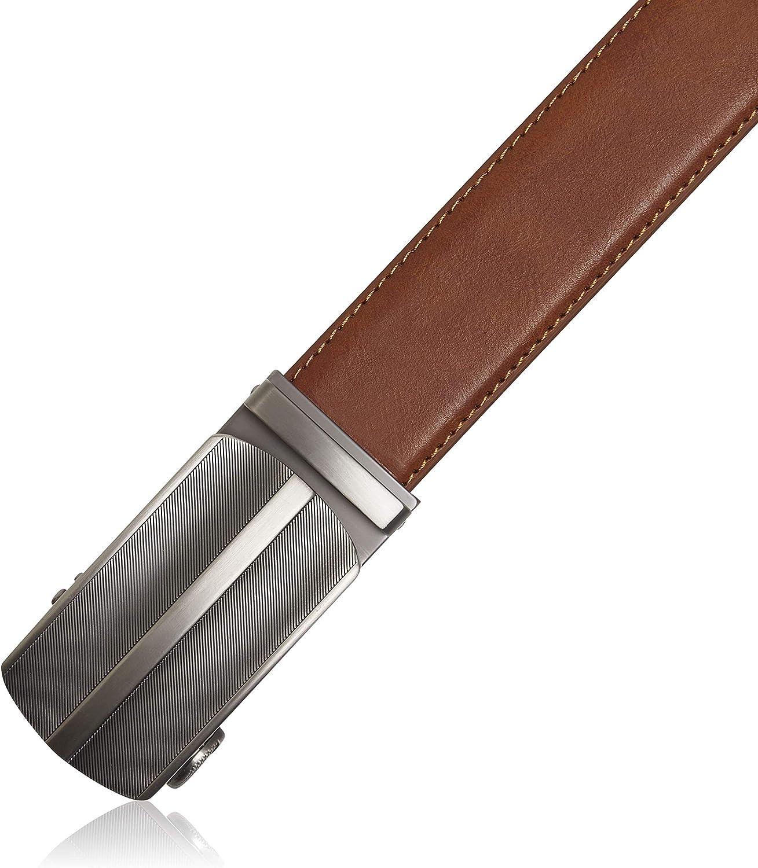 Designed in the USA Uniform With Adjustable Buckle Bonded Leather Ratchet Belts For Men Jeans Mens Belt For Suits