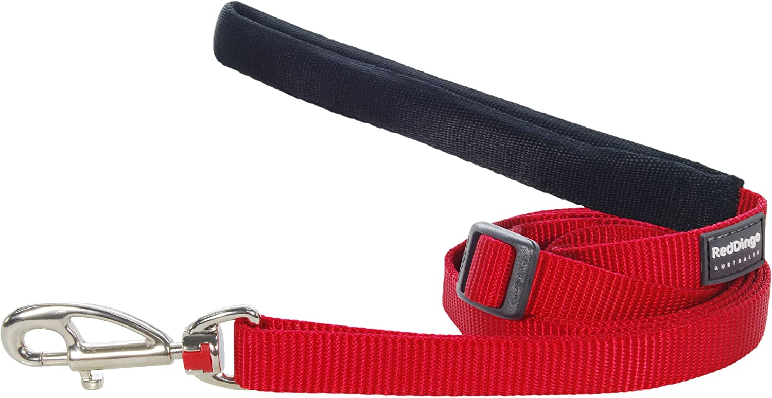 Red Red Dingo Classic Dog Lead, Small, Red