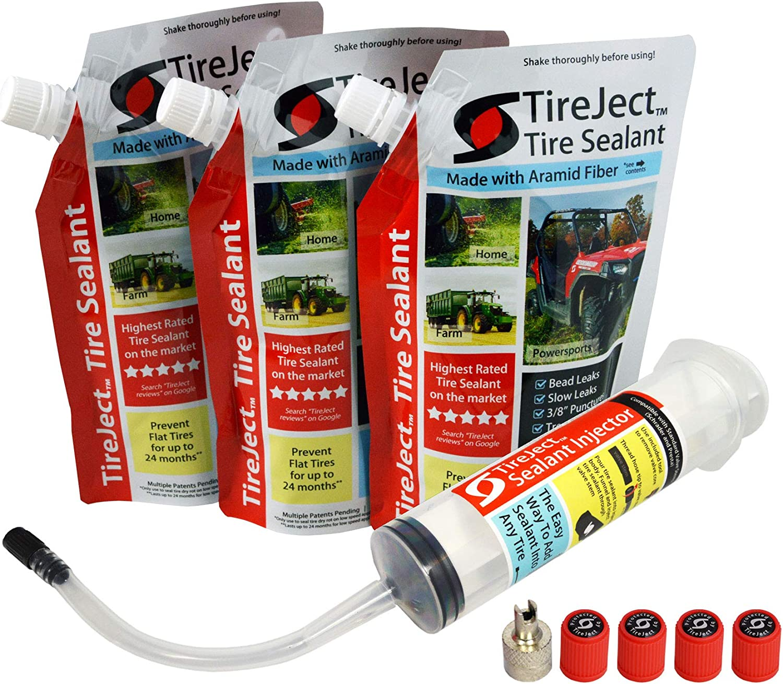 Tirejet Lawn Mower Tire Sealant