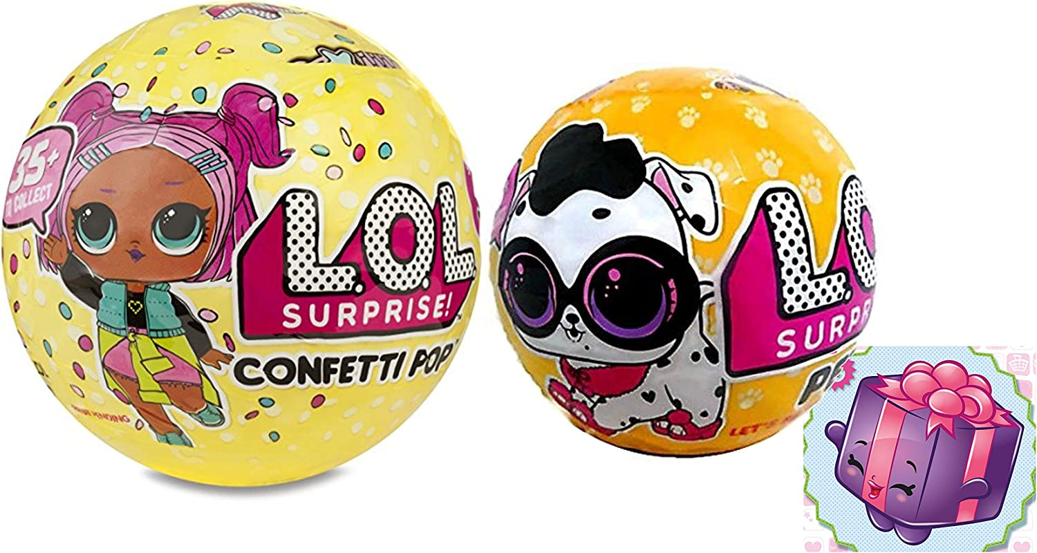Amazon Com L O L Surprise Confetti Pop Series 3 Wave 1 With Lol