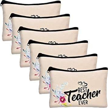 Best Teacher Make Up Tote