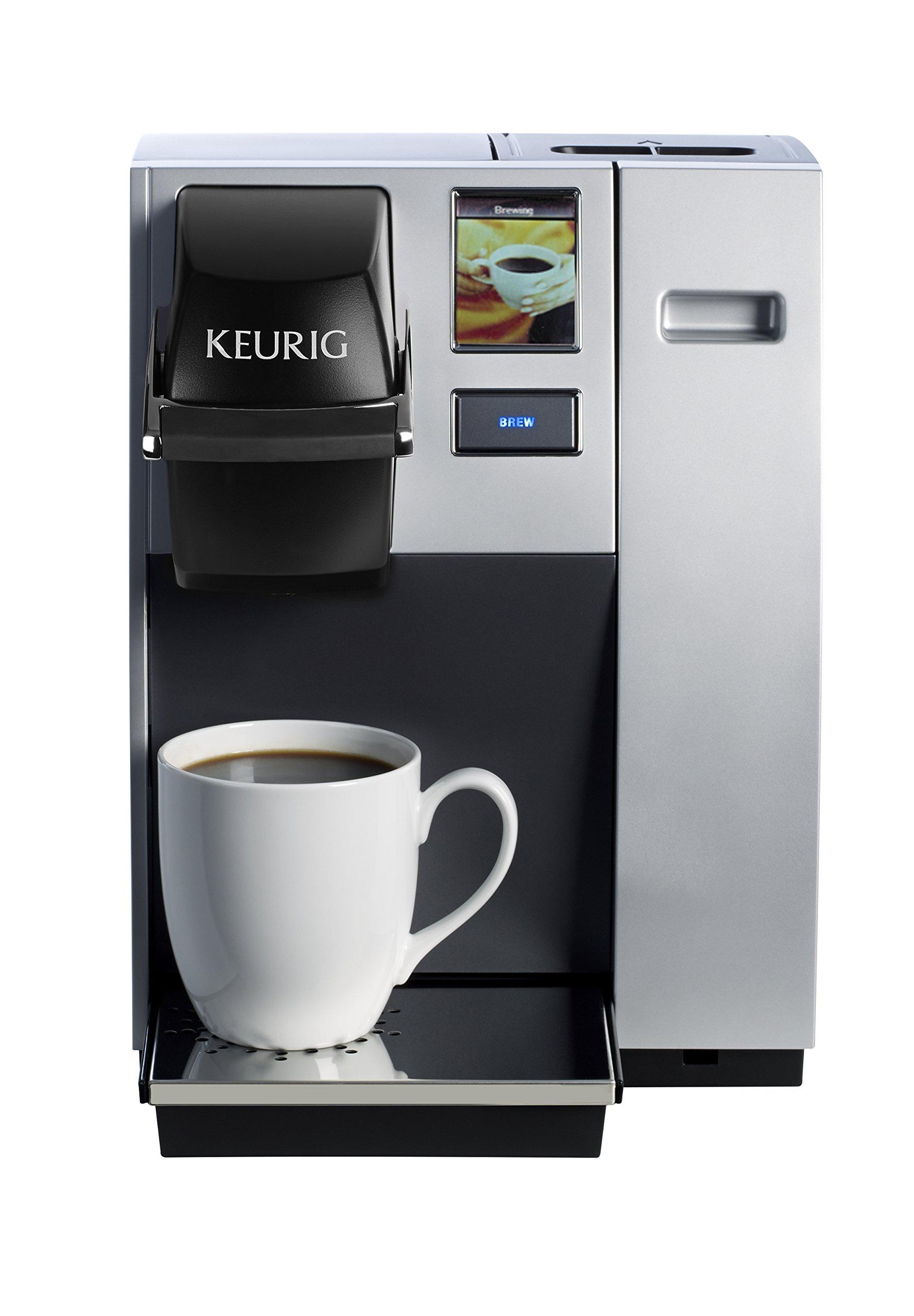 Keurig K150 Single Cup Commercial Coffee Maker, Single Serve K-Cup Pod Coffee Brewer, Silver by Keurig