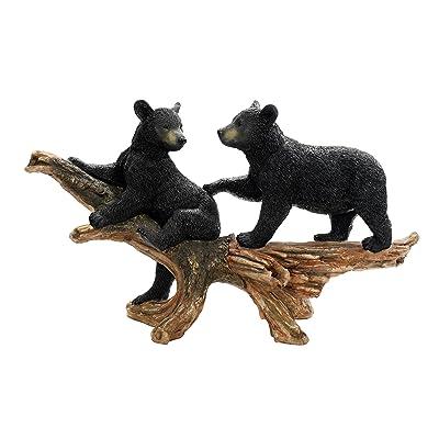 Design Toscano Mischievous Bear Cubs Sculpture : Outdoor Statues : Garden & Outdoor