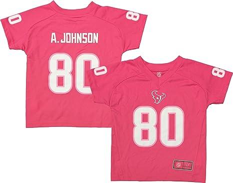pink texans jersey