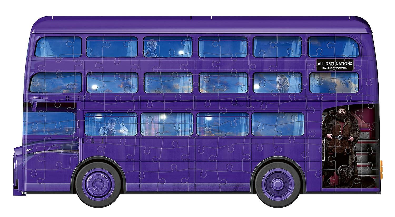 Ravensburger Puzzle 3D Autob/ùs noct/àmbulo Harry Potter 11158