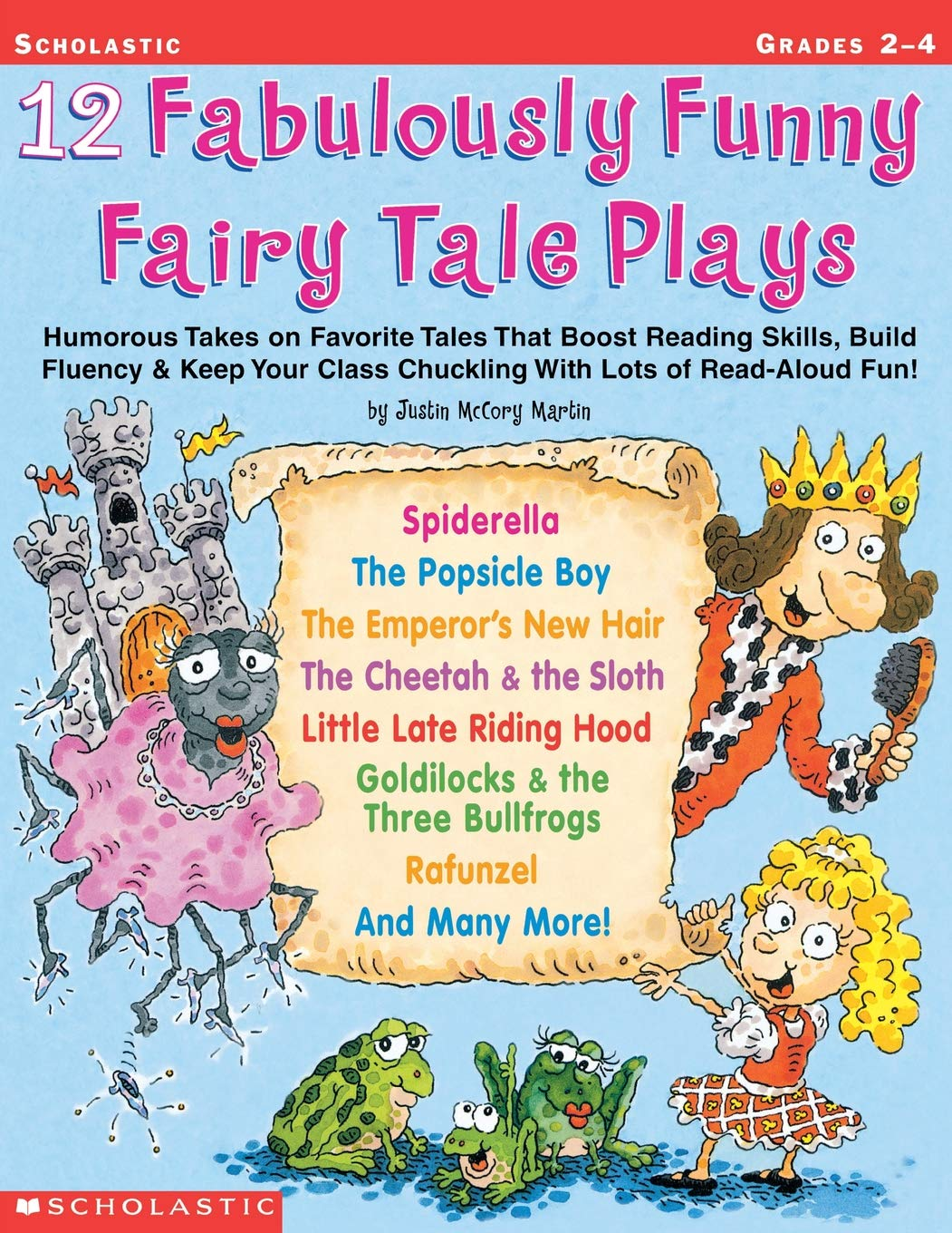 Download 12 Fabulously Funny Fairy Tale Plays: Humorous Takes on Favorite Tales That Boost Reading Skills, Build Fluency & Keep Your Class Chuckling With Lots of Read-Aloud Fun! pdf