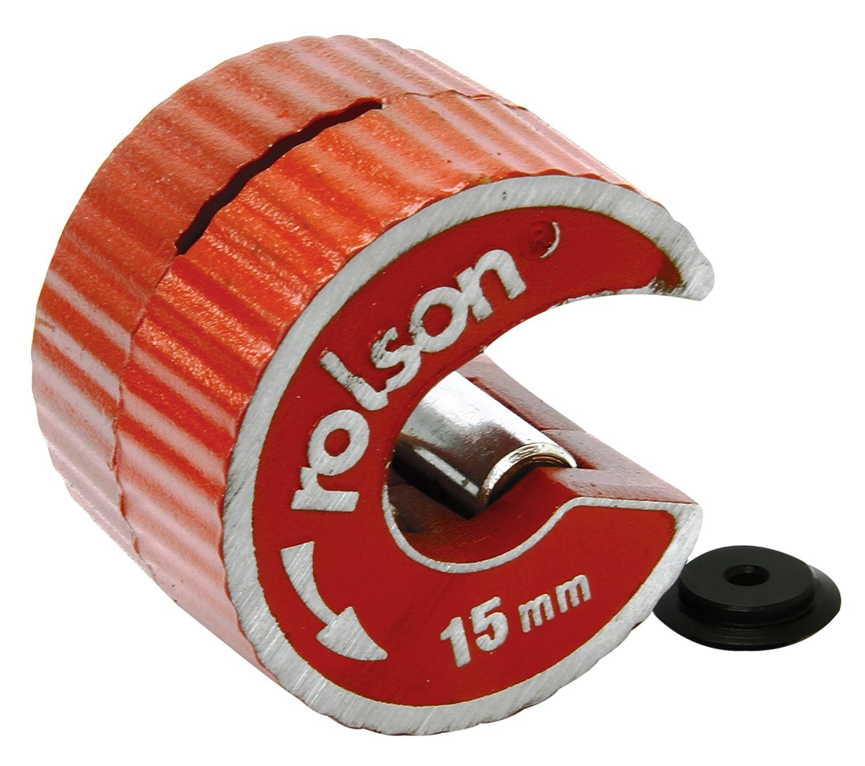 Rolson 22408- Cortatubos de cobre con cuchilla de repuesto Rolson Tools