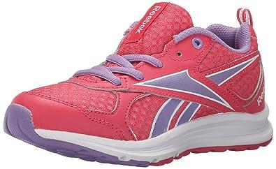 Reebok Almotio RS Running Shoe (Little Kid/Big Kid), Fearless Pink/