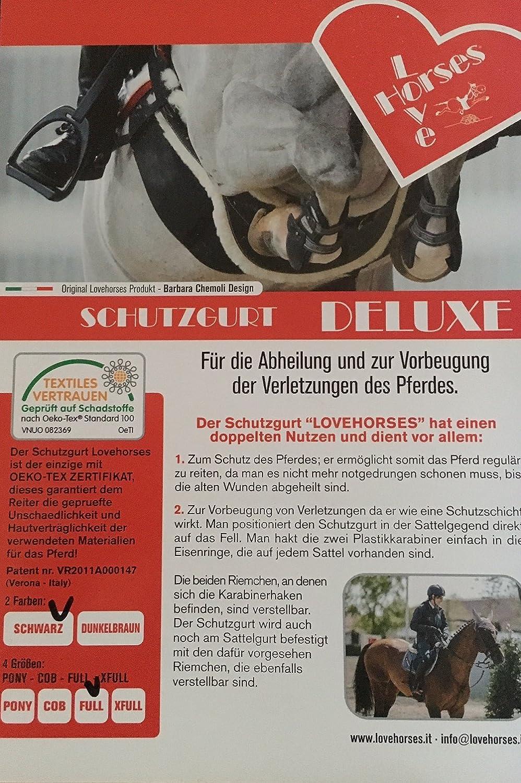 LOVEHORSES Body Bandage Sporenschutzgurt Gr. Cob oder Full