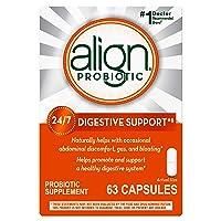 Align Probiotics Supplement, 63 Capsules, Gluten Free, Natural Strain Probiotic...