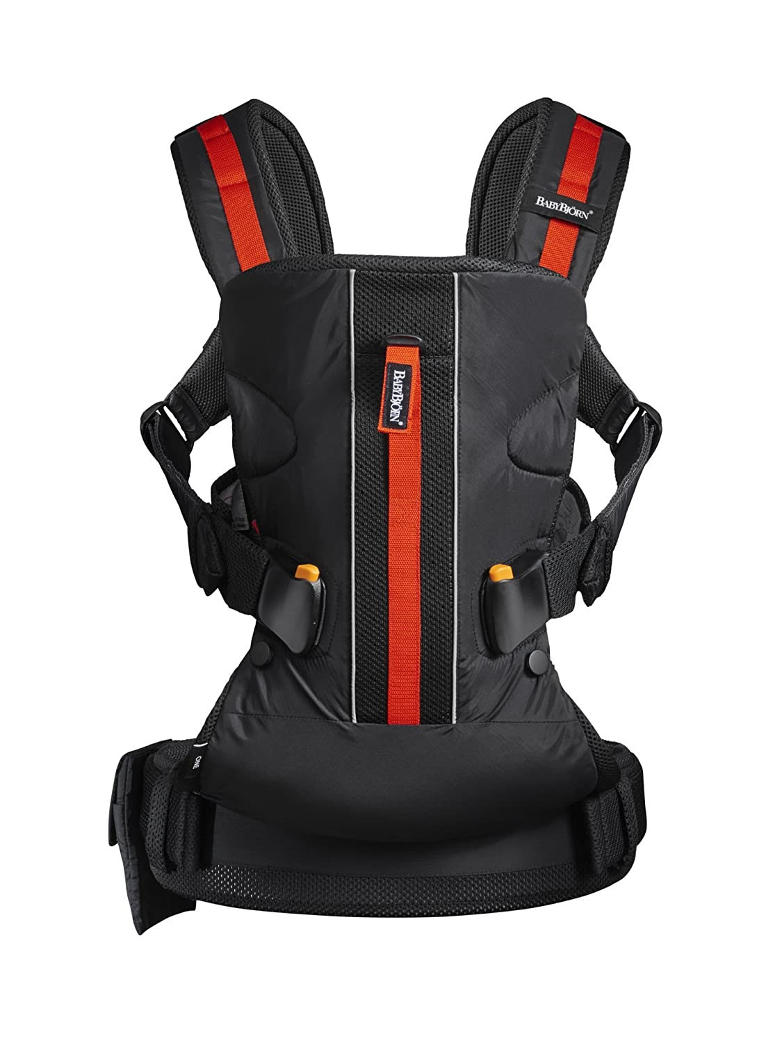BABYBJÖRN Baby Carrier One Outdoors, Black BABYBJORN 094068