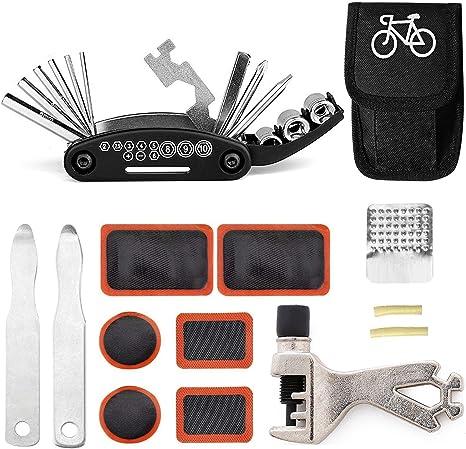 GoTravel2 Juego de Herramientas de reparación de Bicicletas 16 en ...