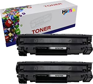 HIINK Compatible Toner Cartridge Replacement for HP CF279A 79A Toner Cartridge for Laserjet Pro M12a M12w MFP M26a M26nw Printer(Black, 2-Pack)
