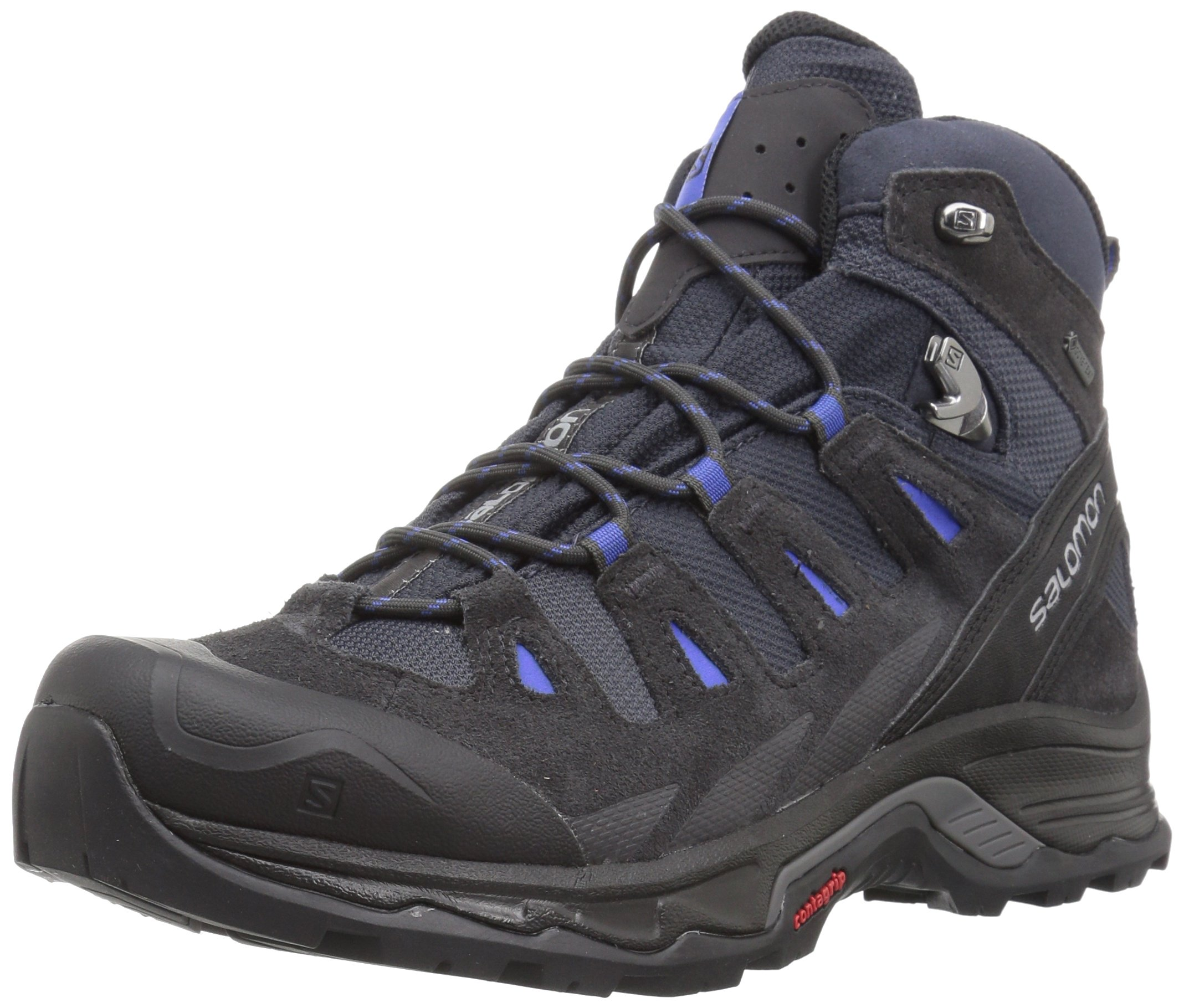 Salomon Women's Quest Prime Gtx W Backpacking Boot, India Ink/Phantom/Amparo Blue, 8 M US