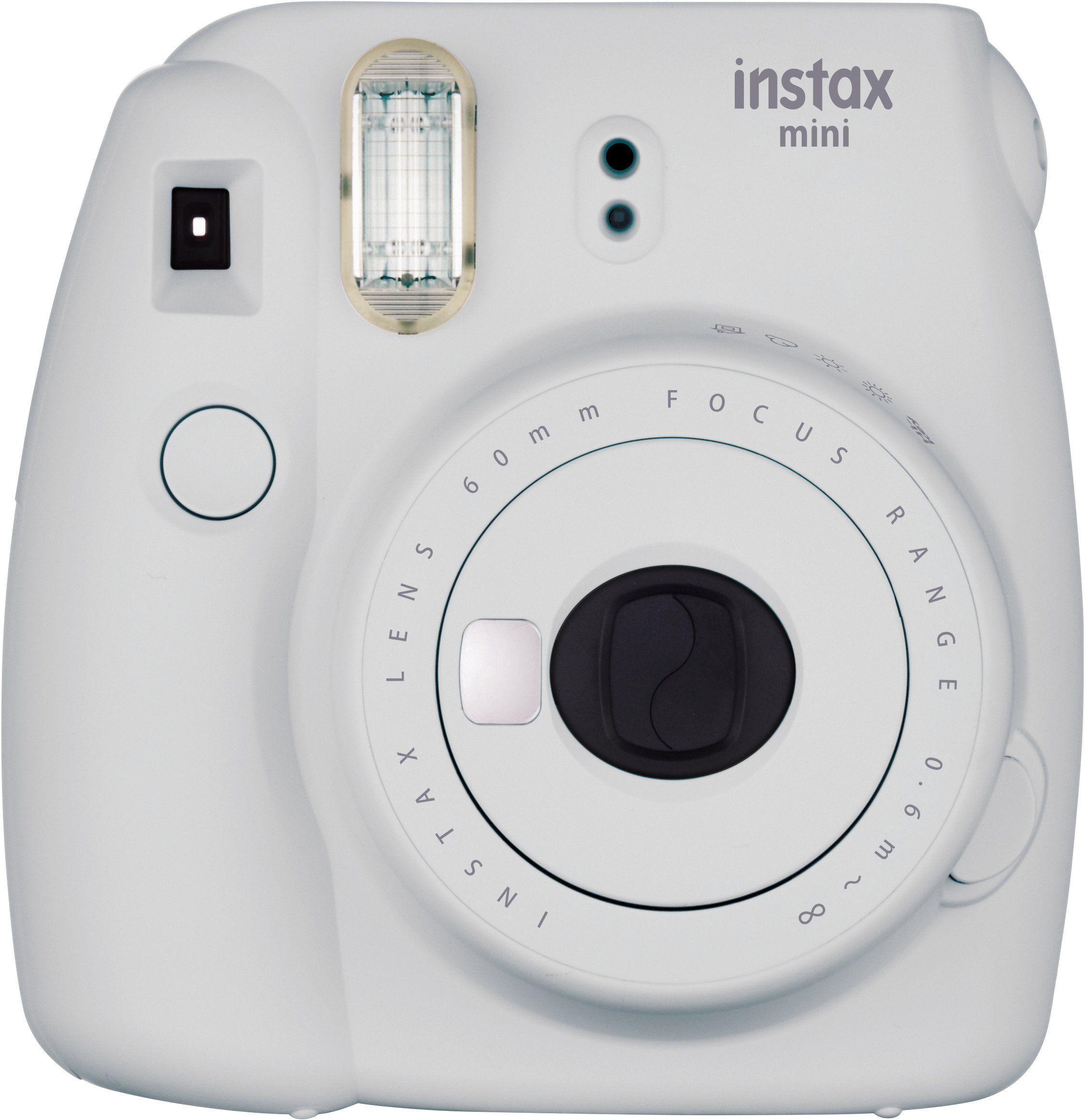 Fujifilm Instax Mini 9 Instant Camera - Smokey White by Fujifilm