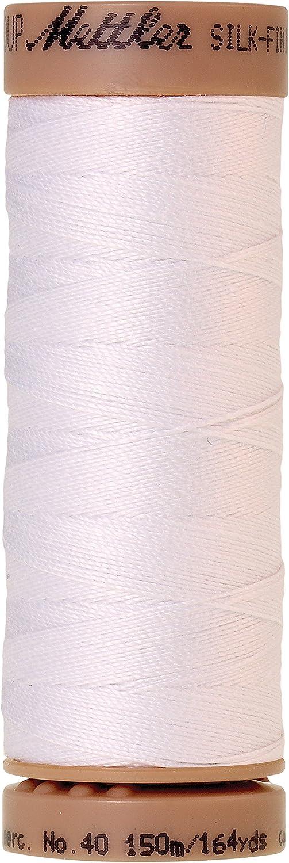 #136 Mettler Quilting Thread Machine or Hand 40wt 100/% Cotton 2 Spools