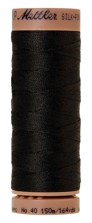 164/YD//150/m Mettler MTSF8/ /Set 40/Peso s/ólido Hilo de algod/ón Negro
