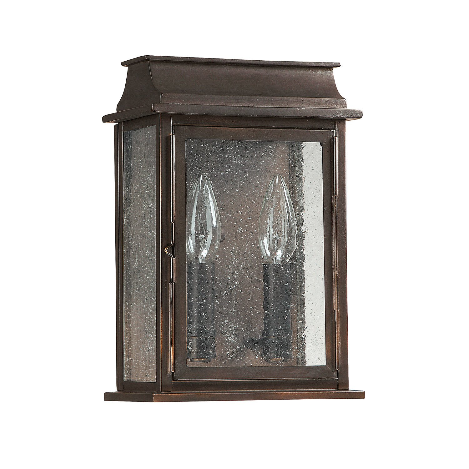 Capital Lighting 9661OB Bolton 2 Light 11 Inch Exterior Wall Mount