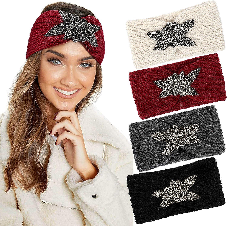 Knitted Headbands Winter...