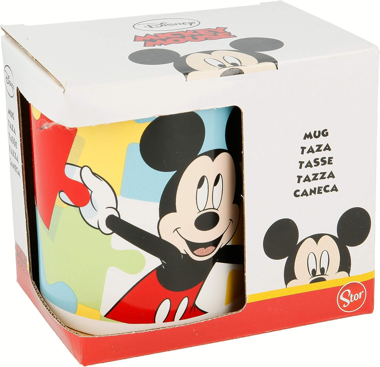 Stor Taza Ceramica 325 ML con Caja   Mickey Mouse - Disney - Puzzle: Amazon.es: Hogar