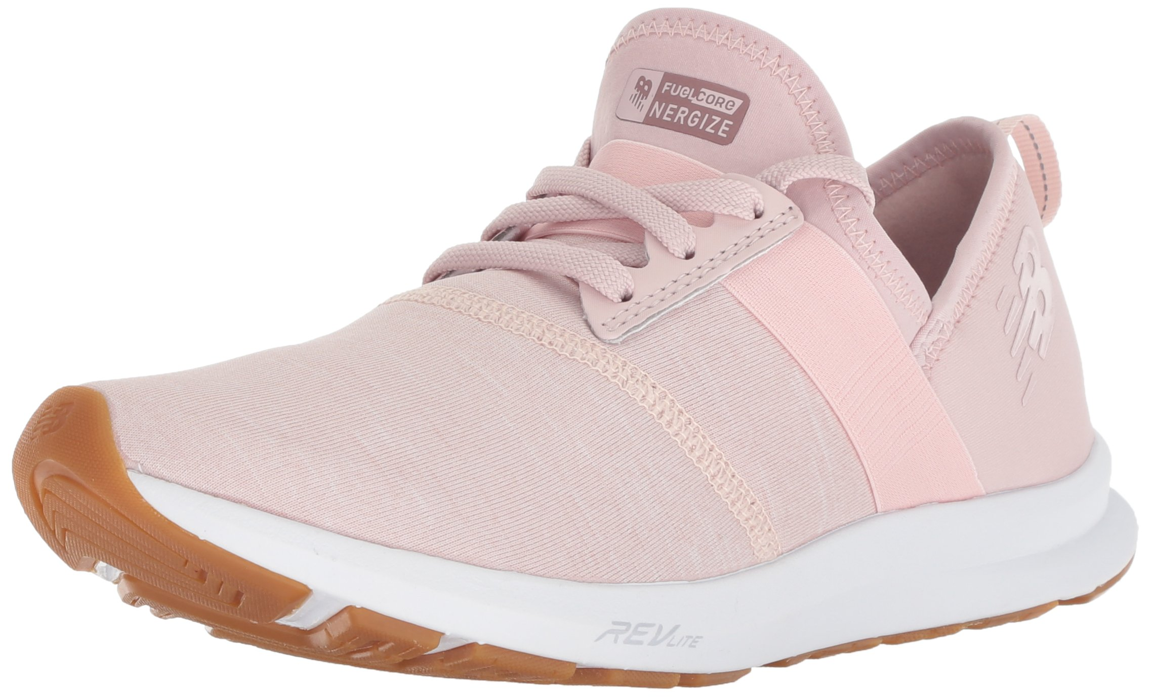 New Balance Women's Nergize V1 FuelCore Sneaker,CONCH SHELL,5 B US