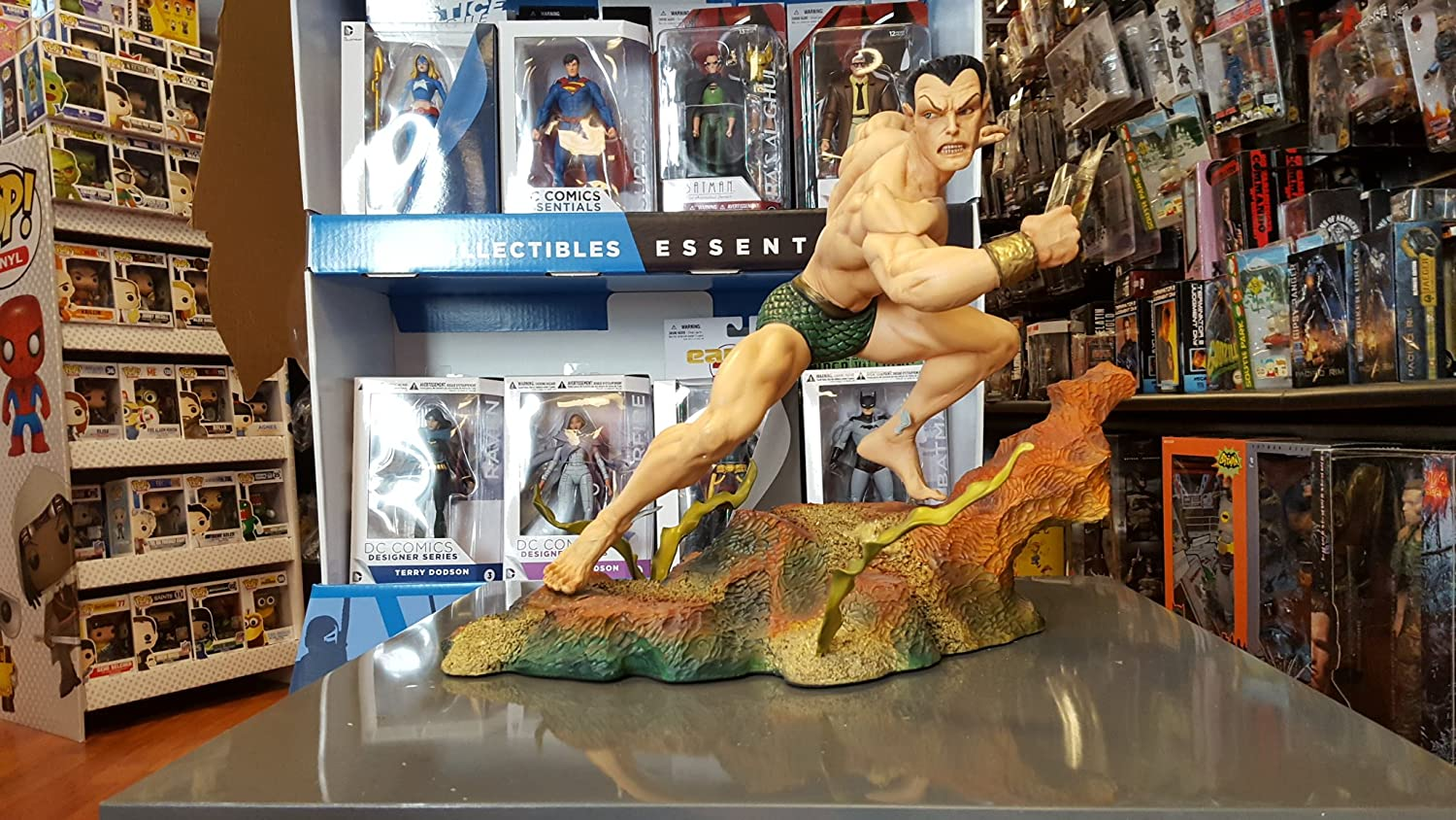 Sideshow Collectibles - Marvel statuette Prince Namor the Sub-Mariner Comiquette 45 cm by Sideshow
