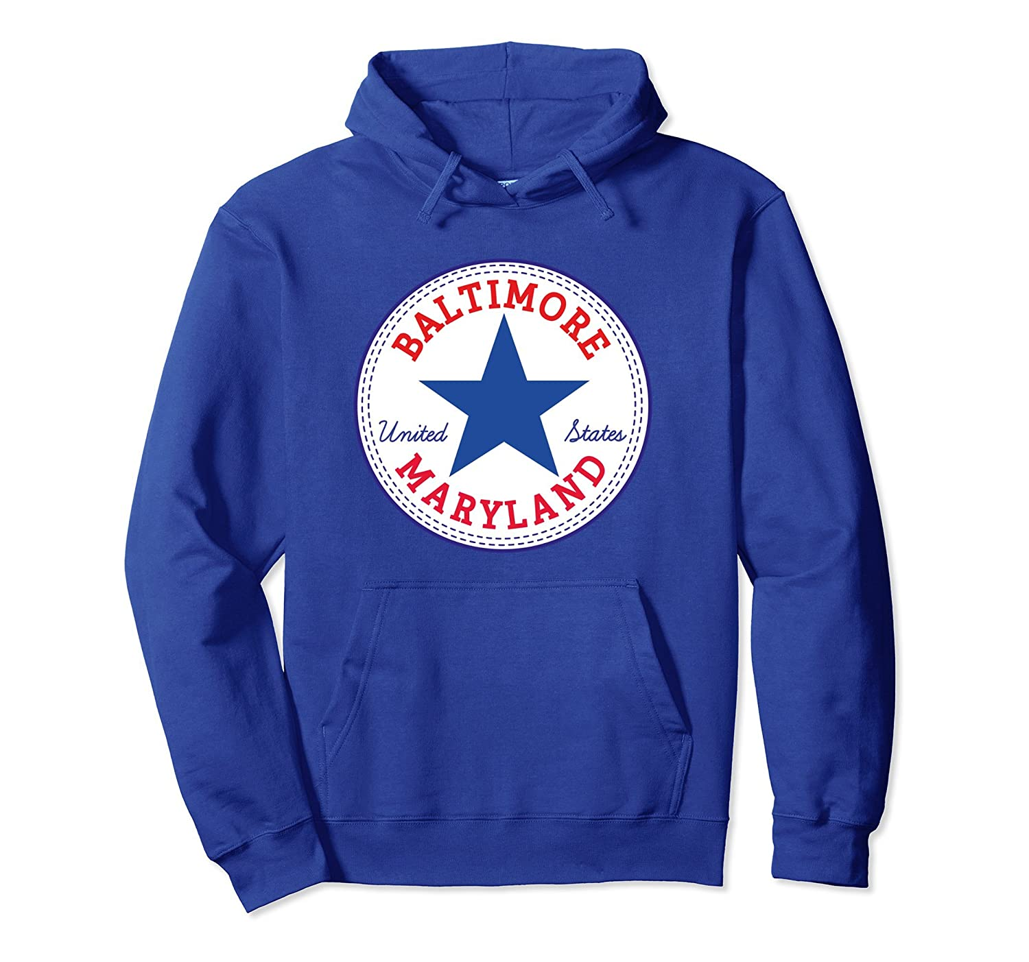 BALTIMORE Maryland USA United States Hoodie Pullover-TH