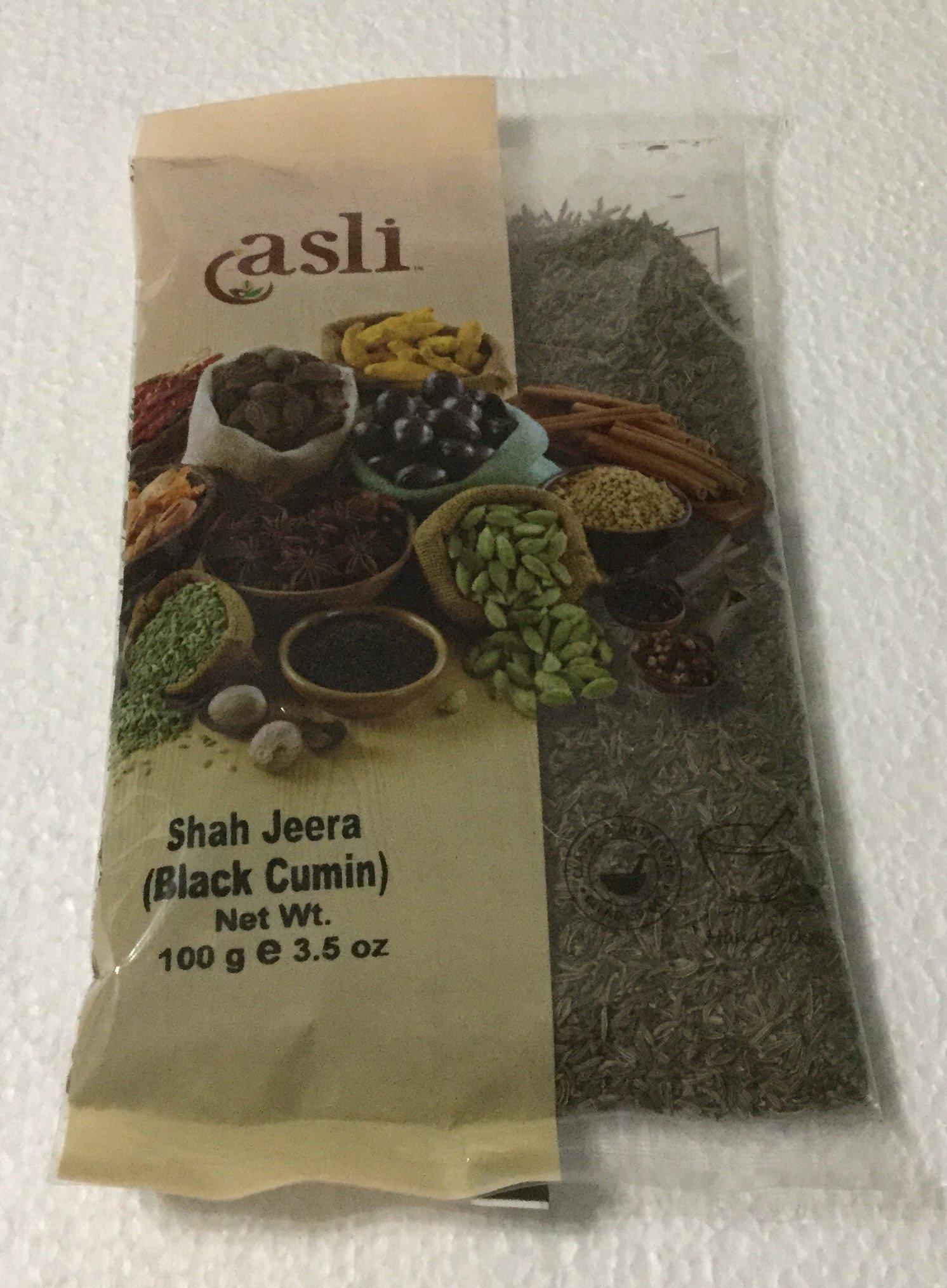 Asli Shah Jeera (Black Cumin) - 100g., 3.5oz