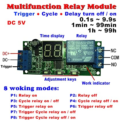 Cyclic Relay Wiring Diagram - Home Wiring Diagrams on
