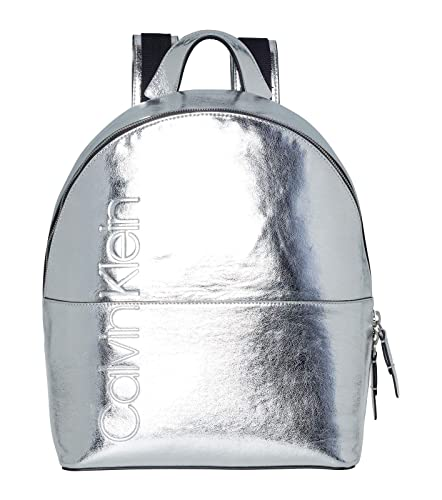 4eadd81f243 Calvin Klein Dual Backpack Metallic Silver: Amazon.co.uk: Shoes & Bags