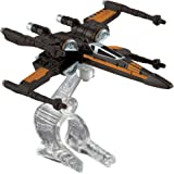 Hot Wheels, Star Wars: The Force Awakens Poe's X-Wing Fighter (Open Wings) Die-Cast Vehicle