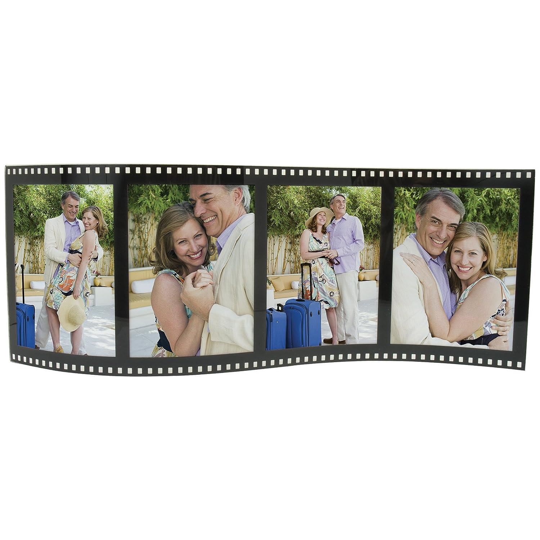 Amazon.com - Horizontal Filmstrip Frame Wave Frames- Holds 4 Photos ...