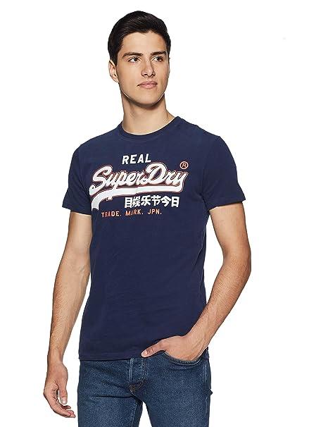 De Superdry Para Hombre Tee Entry Logo Camiseta Vintage Tirantes wOOSXpqr