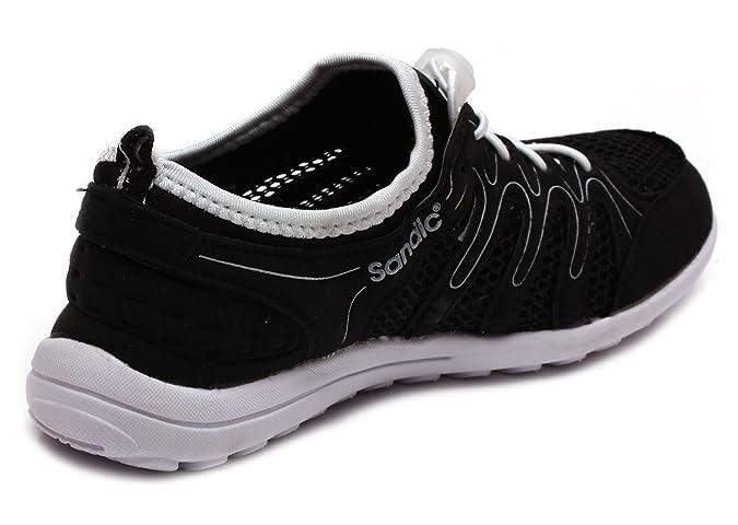 a6649aac631cd Sandic Herren Sportschuhe Black Fuxia Mint Blue/Fuxia Schuhe Herrenschuhe Laufschuhe  Sportschuhe Spikes 41 42 43 44 45 46 (40, Black): Amazon.de: Schuhe & ...