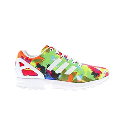 new concept 906bb b746f Adidas ZX Flux Palm Trees Colour Splash Print Womens Running Sneakers  Trainers S82823 UK 6.5 EUR 40 US 8  Amazon.co.uk  Shoes   Bags