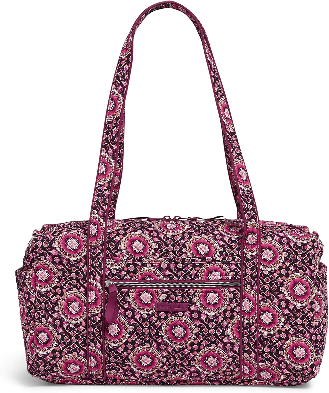 Vera Bradley Women's Signature Cotton Travel Duffel Bag
