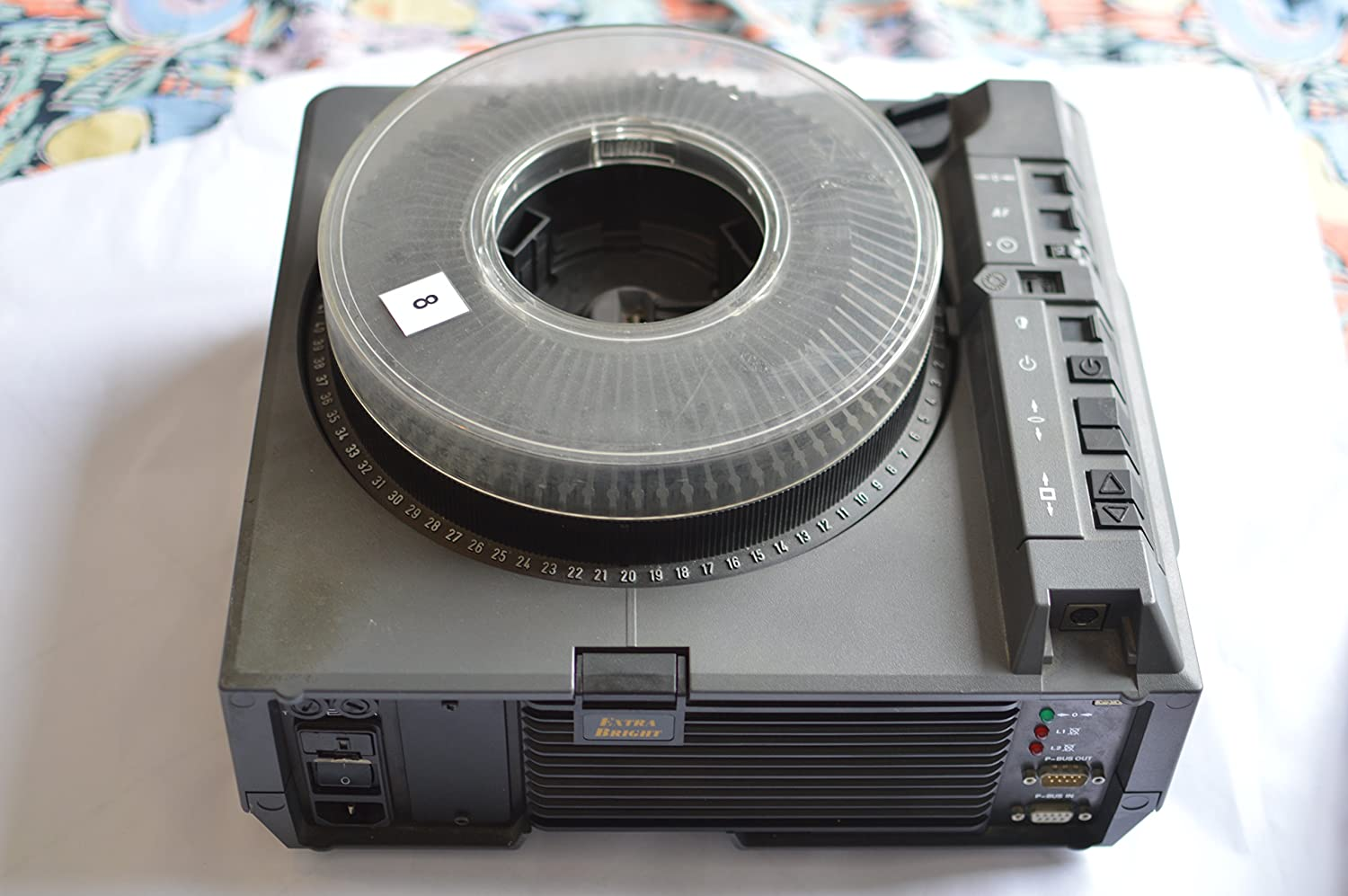 Slide projector tray for BOOTS projector 36 slides per tray  x 3 TRAYS box