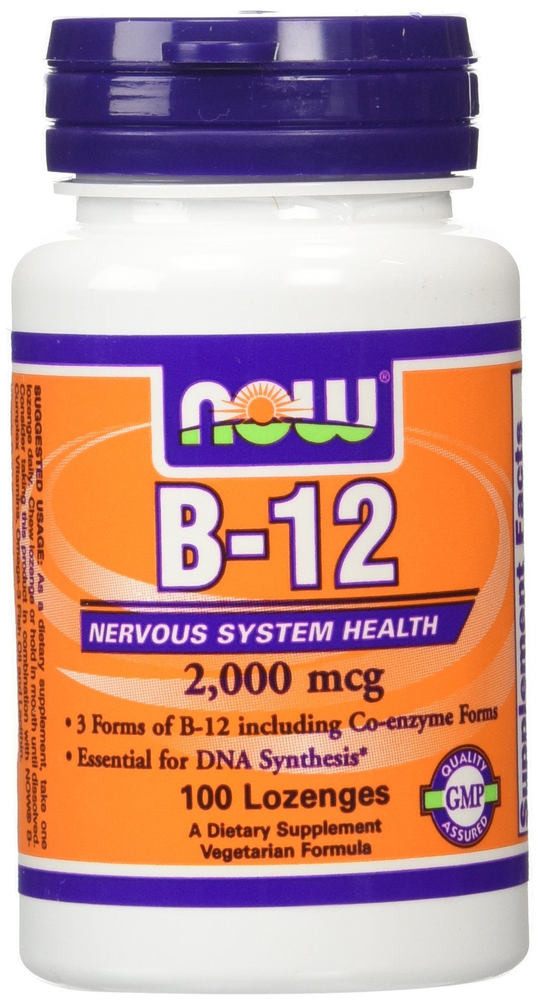 Now Foods B-12 200 (2 Pack of 100) by Now Foods
