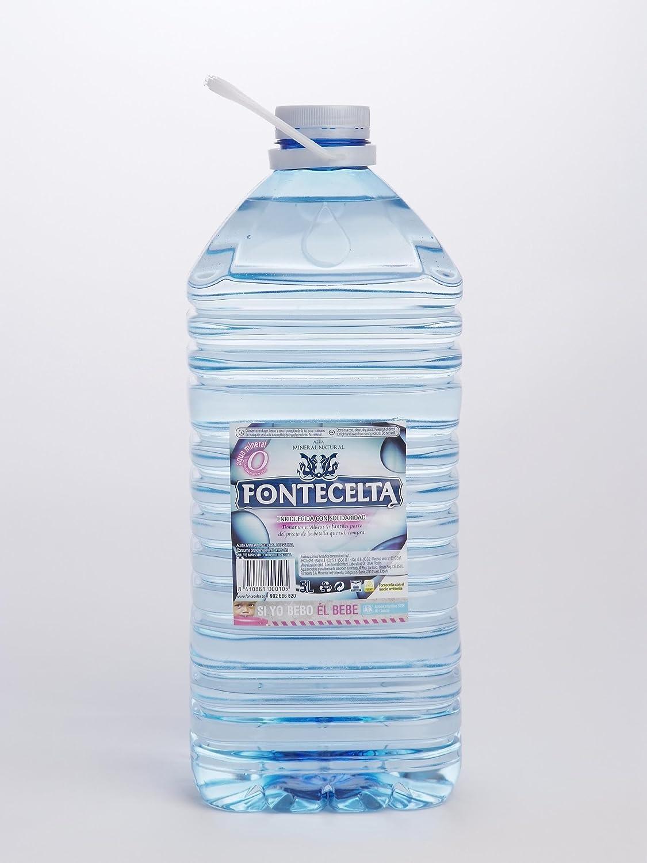 Agua Mineral Natural Fontecelta 5L: Amazon.es: Alimentación y bebidas