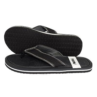 Peach Couture Nautical Summer Men's Beach Summer Flip Flop Sandals Slippers Open Toe Flipflops | Sandals