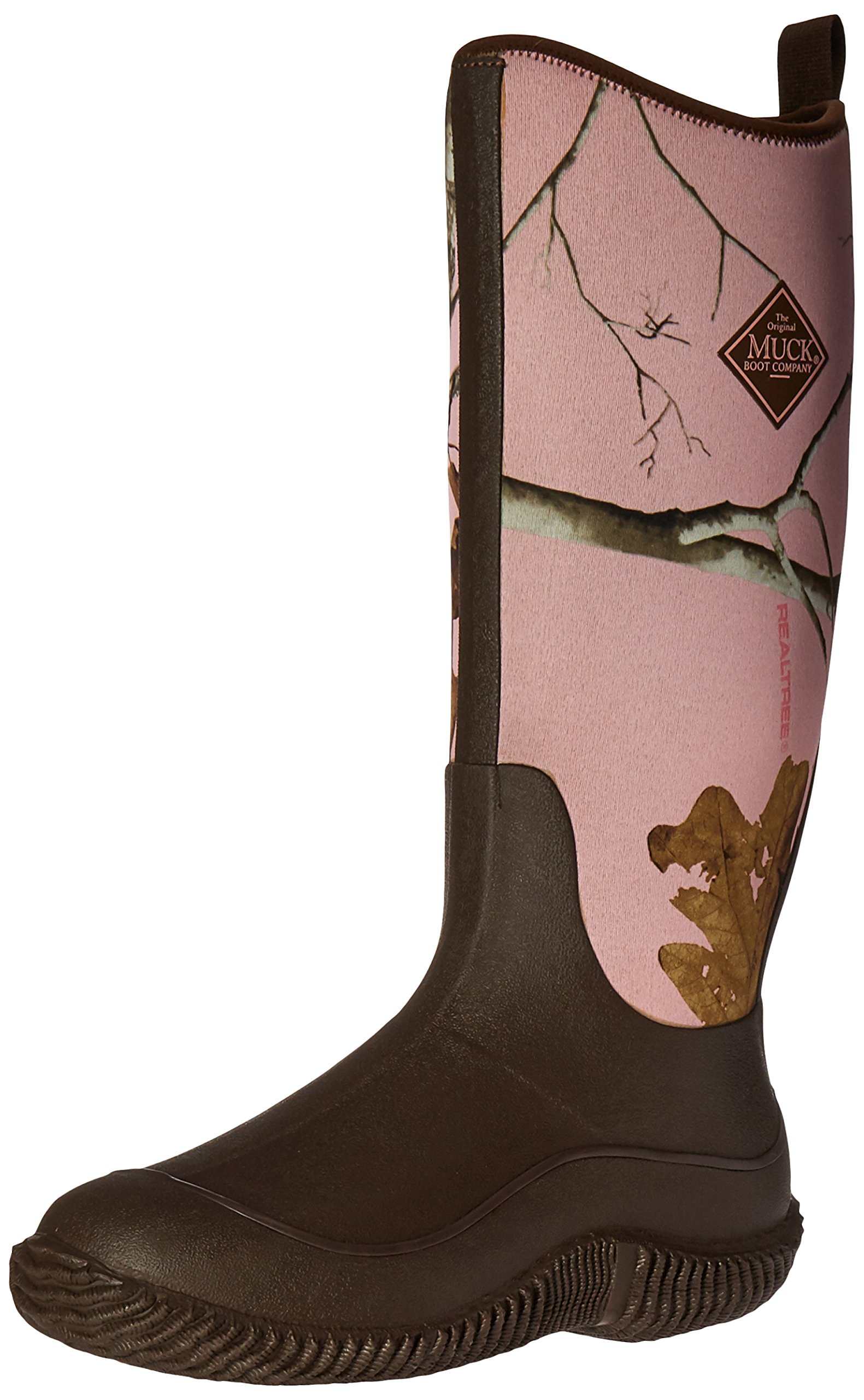 Muck Boot Women's Hale Snow Boot, Brown/Pink Realtree Apc, 9 M US