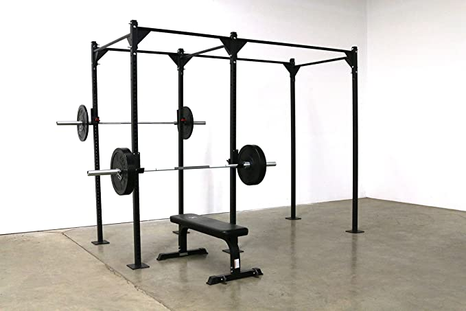 Free Standing CFF 14/' Pull up Rig and Rack System Great for Cross Training
