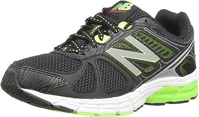 New Balance M670BG1 D, Zapatillas de Running para Hombre, Negro/Verde, 42.5 EU: Amazon.es: Zapatos y complementos