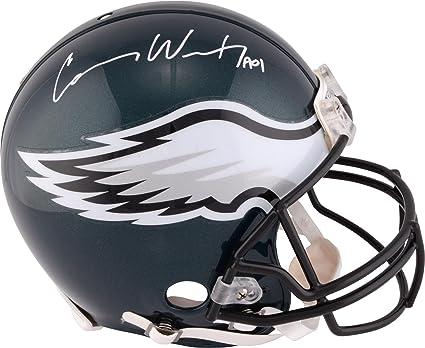 82a29c80 Amazon.com: Carson Wentz Philadelphia Eagles Autographed Riddell Pro ...