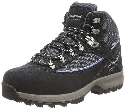 Berghaus Exp Trek VII GTX Tech Boot AF Blk/LtBlu, Scarpe da Trekking da Donna, Blu (Navy/Soft Blue), 38.5 EU