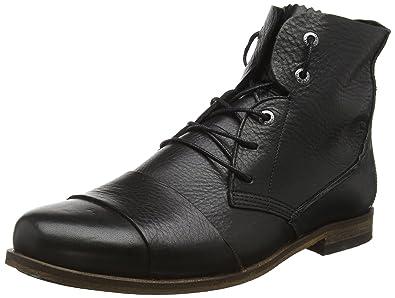 Lomu L80, Derby Homme - Noir - Schwarz (Black 016), 44HUB
