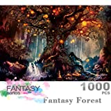 Ingooood- Jigsaw Puzzle 1000 Pieces- Fantasy Series- Fantasy Forest_IG-0622 Entertainment Toys for Adult Special Graduation o