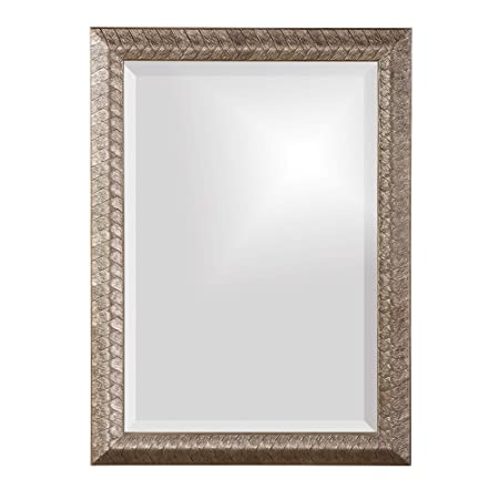 Adeco Home Collection Sunburst Mirror, Gold Metal Decorative Wall Mirror – 26×25.7 Inches